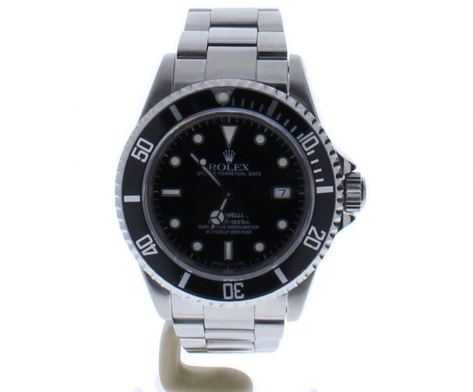 Rolex Sea-Dweller 4000-ft Stainless-steel 16600 Black Dial Mens 40-mm Watch
