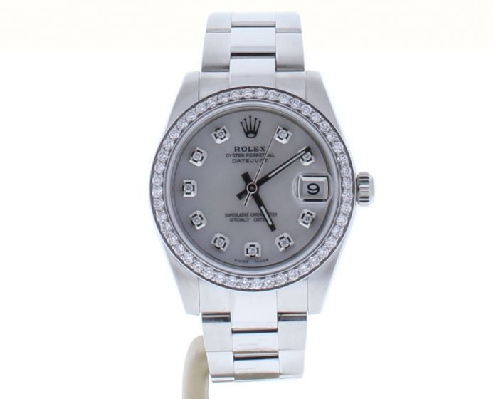 Rolex Lady DateJust 31 Stainless-steel 178240 Peal Dial Midsize Automatic Watch