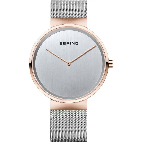 BERING Time Classic Collection Stainless-Steel 14539-060 Silver Dial Unisex-adul