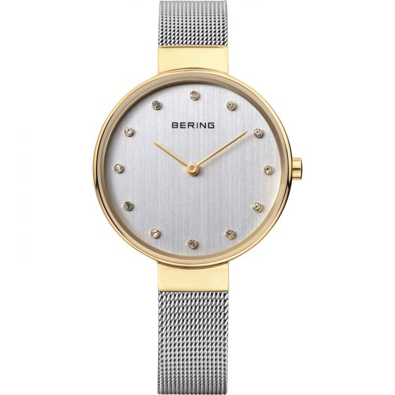 BERING Time 12034-010 Womens Classic Collection Watch with Mesh Band.
