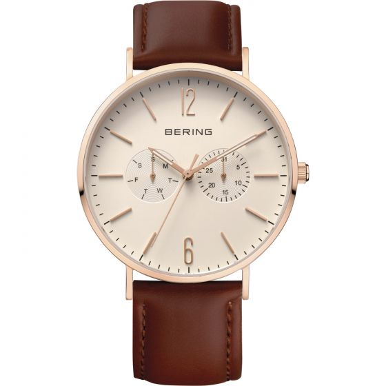 BERING Time 14240-564 Men's Classic Collection Watch with Blue Nylon Band.