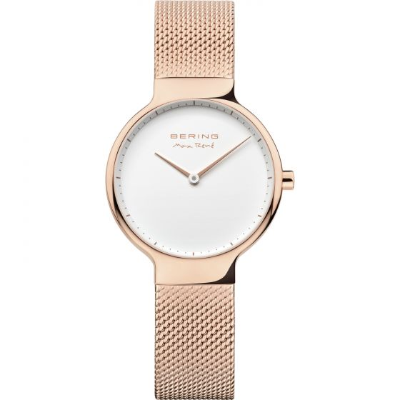 BERING Time 15531-364 Womens Max Rene Collection Watch with Mesh Band.