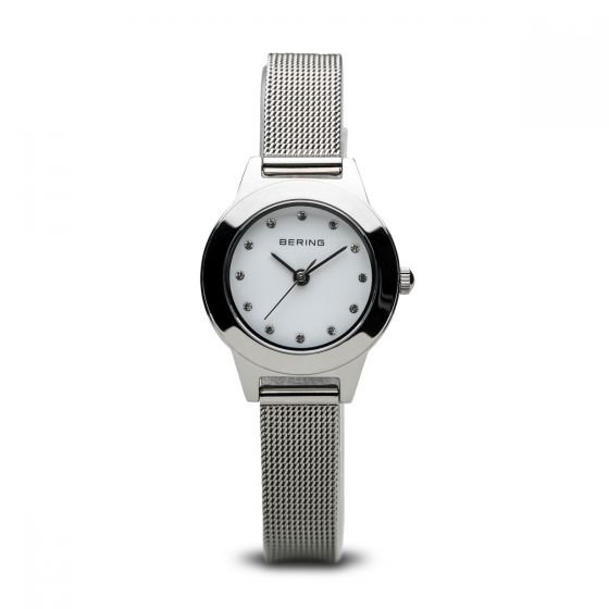 BERING Time 11125-000 Women Classic Collection Watch with Stainless-Steel Strap.