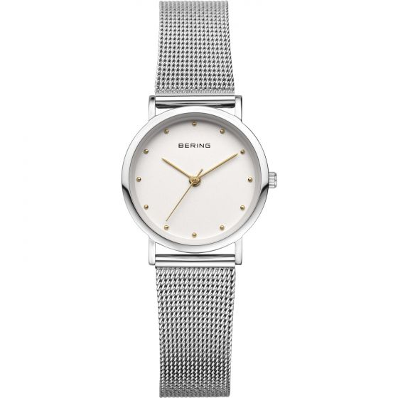 BERING Time 13426-001 Womens Classic Collection Watch with Mesh Band.