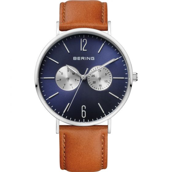 BERING Time Classic Collection Stainless-Steel 14240-507 Blue Dial Men