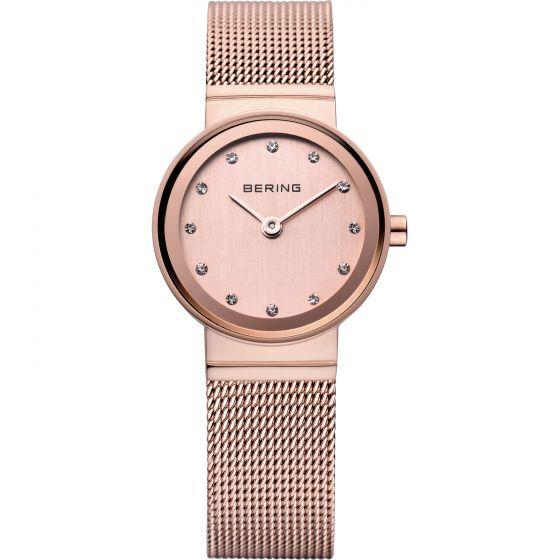 BERING Time 10122-366 Womens Classic Collection Watch with Mesh Band.