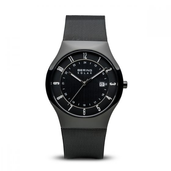 BERING Time 14640-222 Men Solar Collection Watch with Stainless-Steel Strap.