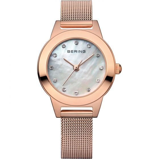 BERING Time 11125-366 Women Classic Collection Watch with Stainless-Steel Strap.