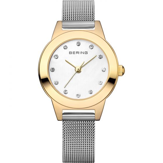 BERING Time 11125-010 Women Classic Collection Watch with Stainless-Steel Strap.