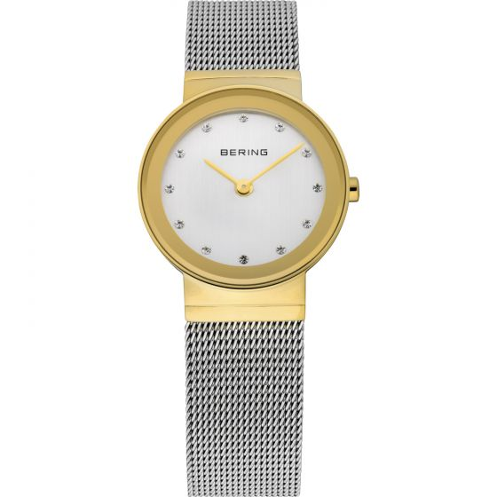 BERING Time 10126-001 Womens Classic Collection Watch with Mesh Band.