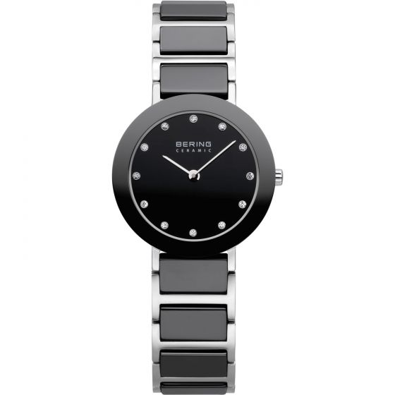 BERING Time 11429-742 Womens Ceramic Collection Watch with Stainless steel Band.