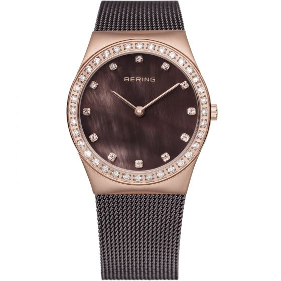BERING Time 12430-262 Womens Classic Collection Watch with Mesh Band.