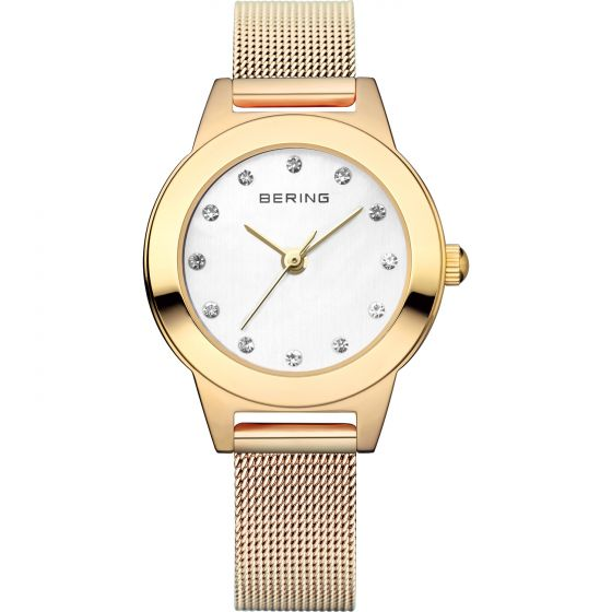 BERING Time 11125-334 Women Classic Collection Watch with Stainless-Steel Strap.