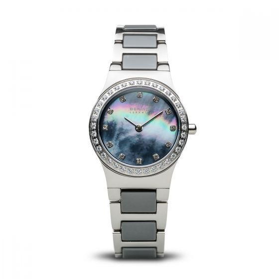 BERING Time 32426-789 Womens Ceramic Collection Watch with Stainless steel Band.
