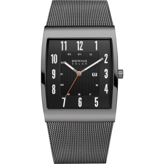 BERING Time 16433-377 Women's Slim Solar Collection Watch.