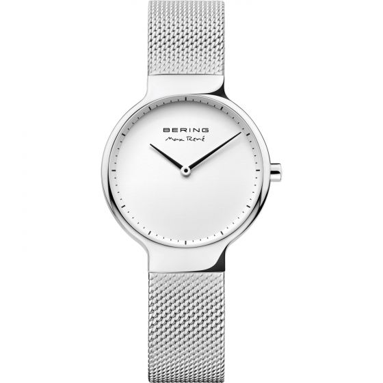 BERING Time 15531-004 Womens Max Rene Collection Watch with Mesh Band.