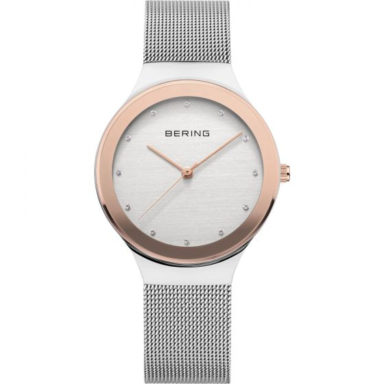 BERING Time Classic Collection Stainless-steel 12934-060 Silver Dial Mens 34-mm
