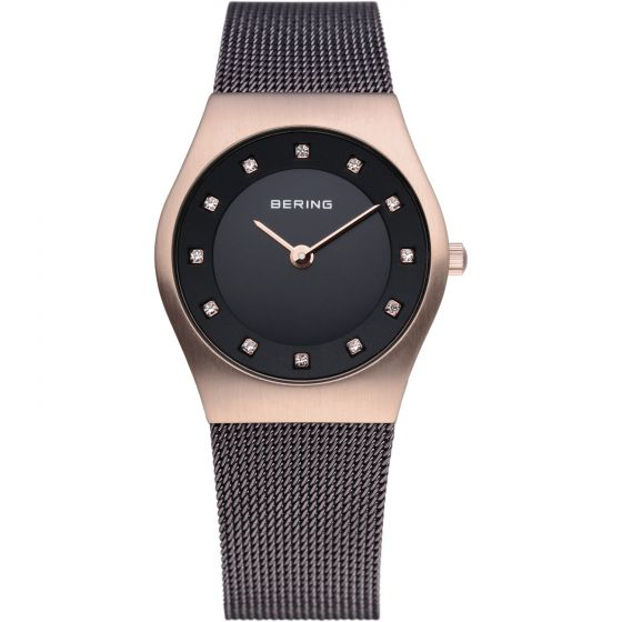 BERING Time 11927-262 Womens Classic Collection Watch with Mesh Band.
