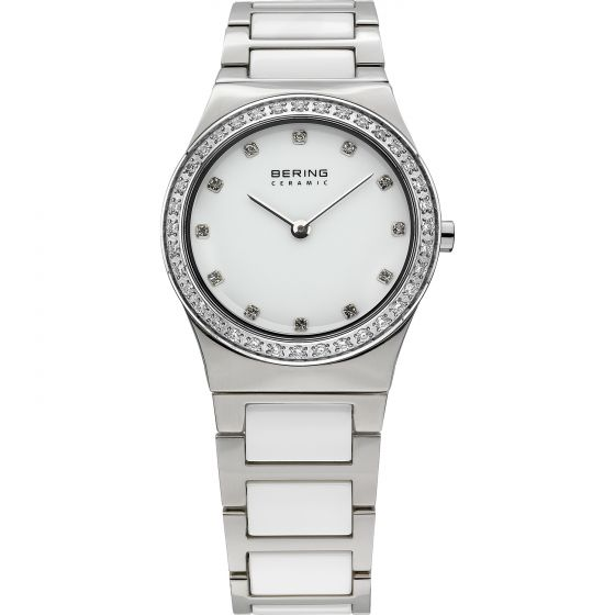 BERING Time 32430-754 Womens Ceramic Collection Watch with Stainless steel Band.