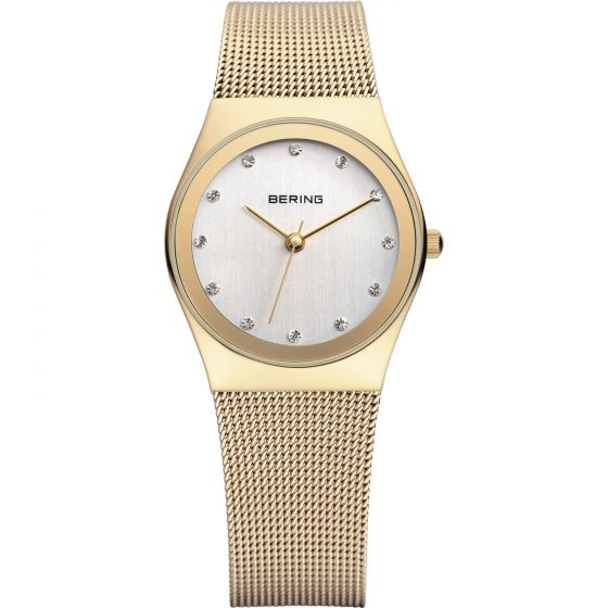 BERING Time Classic Collection Stainless-Steel 12927-334 Silver Dial Womens 27-m