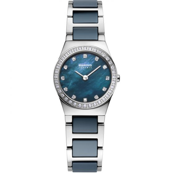 BERING Time 32426-707 Womens Ceramic Collection Watch with Stainless steel Band.