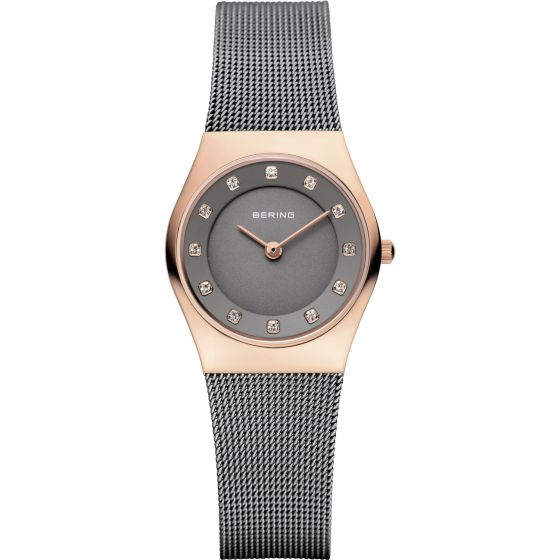 BERING Time 11927-369 Womens Classic Collection Watch with Mesh Band.