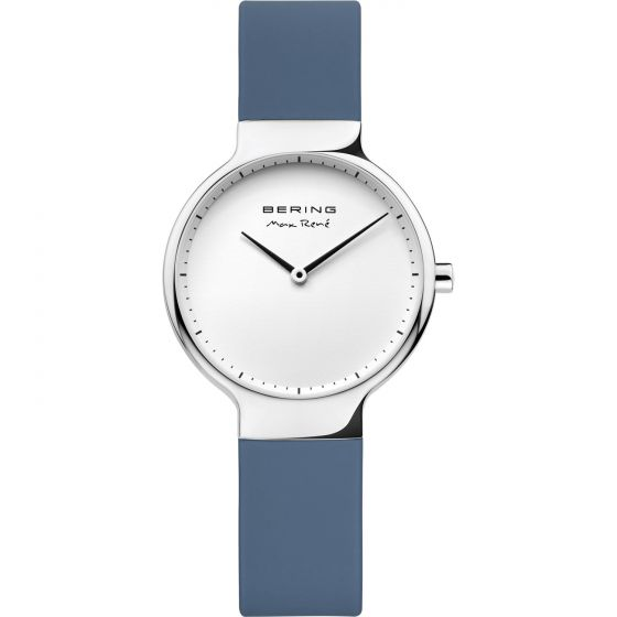 BERING Time 15531-700 Womens Max Rene Collection Watch with Silicone Band.