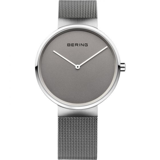 BERING Time Classic Collection Stainless-Steel 14539-077 Grey Dial