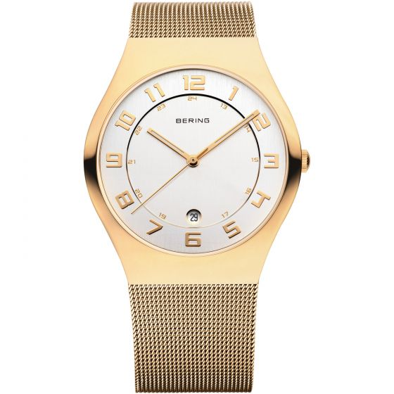 BERING Time 11937-334 Women Classic Collection Watch with Stainless-Steel Strap.