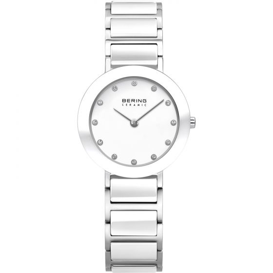 BERING Time 11429-754 Womens Ceramic Collection Watch with Stainless steel Band.