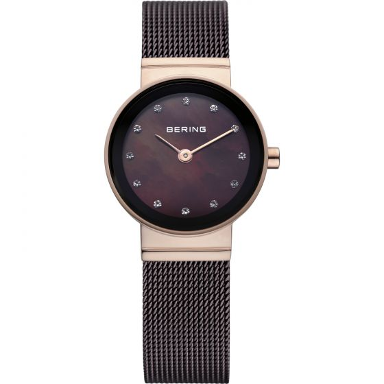 BERING Time 10122-265 Womens Classic Collection Watch with Mesh Band.