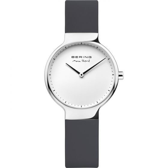 BERING Time 15531-400 Womens Max Rene Collection Watch with Silicone Band.