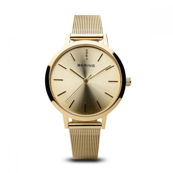 BERING Time 13434-333 Women Classic Collection Watch with Stainless-Steel Strap.
