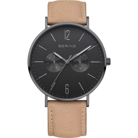 BERING Time Classic Collection Stainless-steel 14240-222 Black Dial Mens 40-mm Q