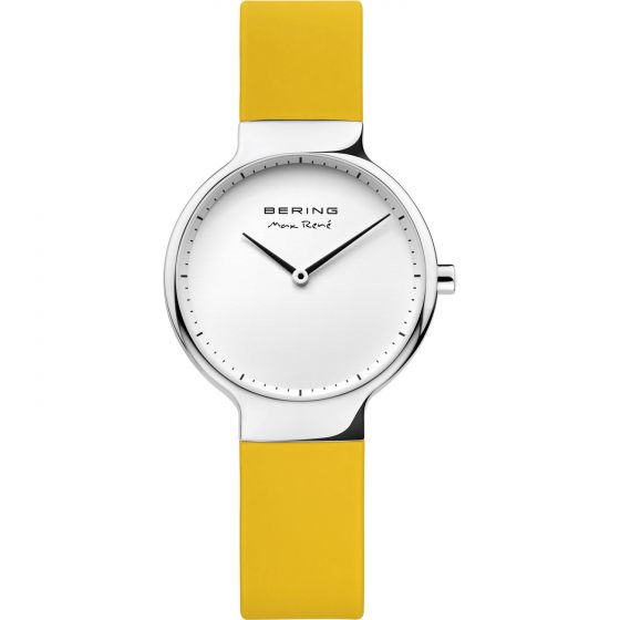 BERING Time 15531-600 Womens Max Rene Collection Watch with Silicone Band.