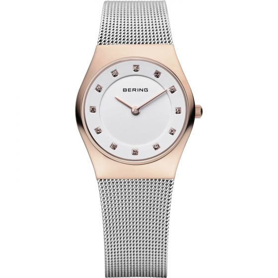 BERING Time 11927-064 Womens Classic Collection Watch with Mesh Band.