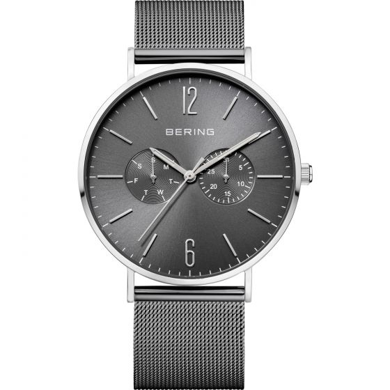 Bering Mens Wrist Band Watch Classic with Changeable Strap 14240-309