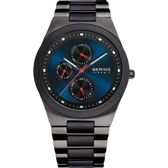 BERING Time 32339-788 Mens Ceramic Collection Watch with Stainless steel Band.