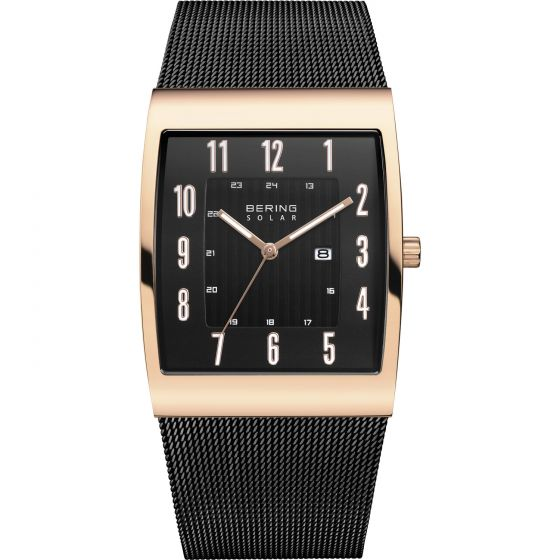 BERING Time Slim Solar Collection Stainless-steel 16433-166-US Black Dial Mens 3