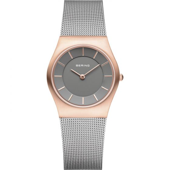 BERING Time 11930-369 Womens Classic Collection Watch with Mesh Band.