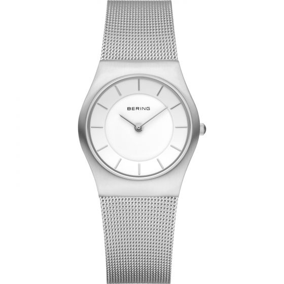 BERING Time 11930-001 Womens Classic Collection Watch with Mesh Band.