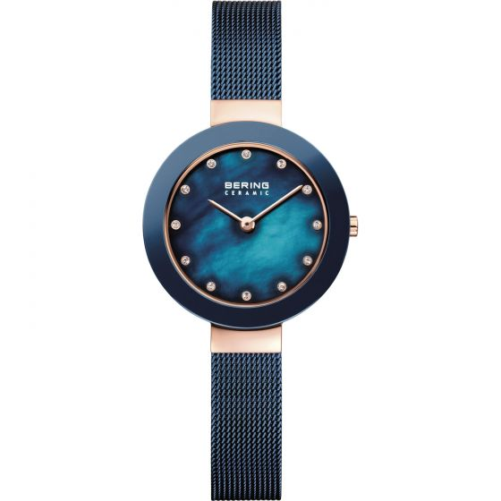 BERING Time 11429-367 Women Ceramic Collection Watch with Stainless-Steel Strap.
