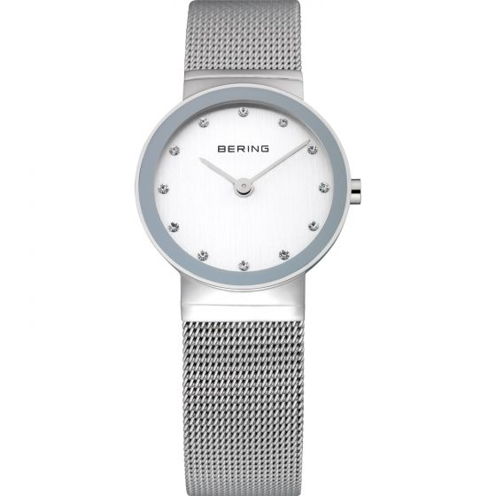 BERING Time 10126-000 Womens Classic Collection Watch with Mesh Band.
