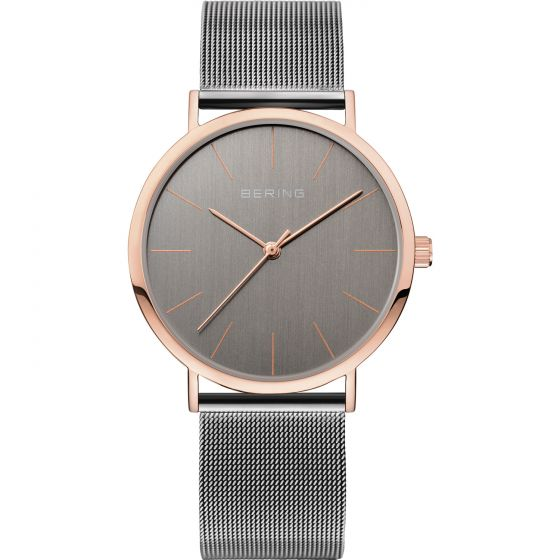 BERING Time 13436-369 Unisex Classic Collection Watch with Mesh Band.