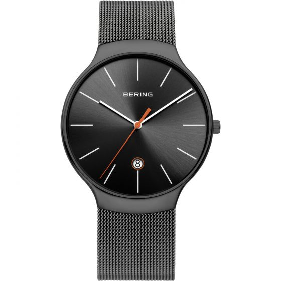 BERING Time 13338-077 Unisex Classic Collection Watch with Mesh Band.