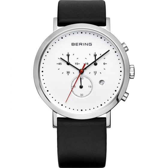 BERING Time 10540-404 Unisex Classic Collection Watch with Calfskin Band.