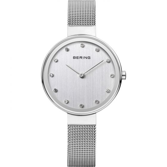 BERING Time 12034-000 Womens Classic Collection Watch with Mesh Band.
