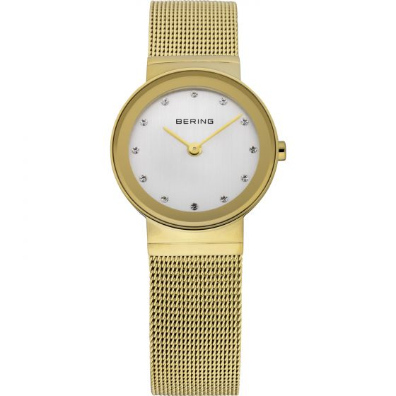 BERING Time 10126-334 Womens Classic Collection Watch with Mesh Band.