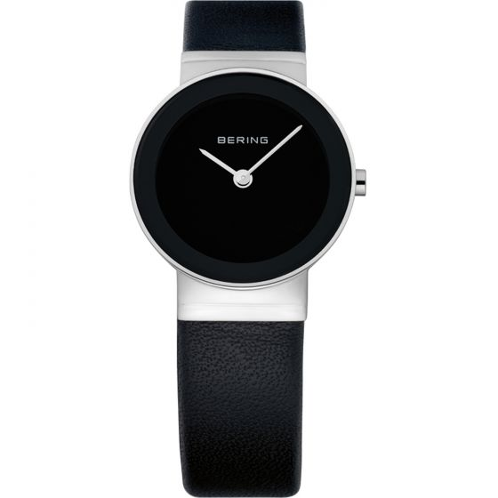 BERING Time 10126-402 Womens Classic Collection Watch with Calfskin Band.