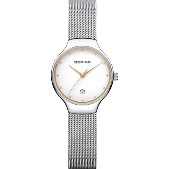 BERING Time 13326-001 Women Classic Collection Watch with Stainless-Steel Strap.